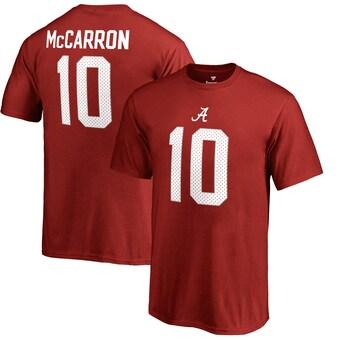 Alabama Crimson Tide T-Shirt - Fanatics Brand - Youth/Kids - AJ McCarron 10 - Football - Crimson