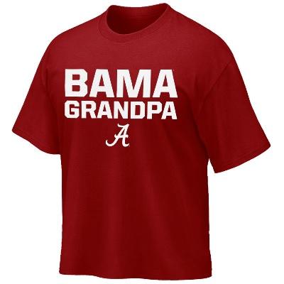 Alabama Crimson Tide T-Shirt - Weezabi - Bama Grandpa - Crimson