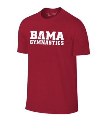 Alabama Crimson Tide T-Shirt - The Victory - Bama Gymnastics - Gymnastics - Crimson