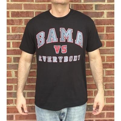 Alabama Crimson Tide T-Shirt - Bama vs Everybody - Black