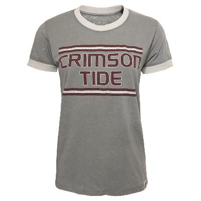Alabama Crimson Tide T-Shirt - Ladies - Grey