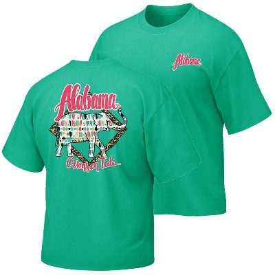 Alabama Crimson Tide T-Shirt - Campus Collection - Ladies - Green