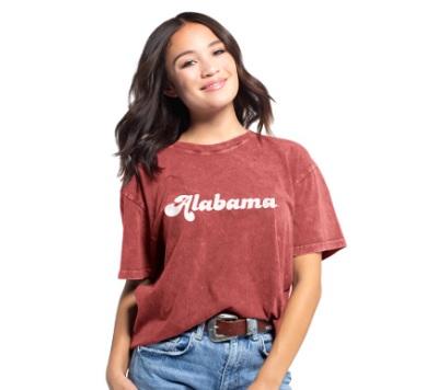 Alabama Crimson Tide T-Shirt - Ladies - Crimson