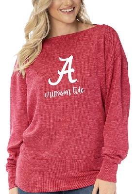 Alabama Crimson Tide T-Shirt - Ladies - Tunic - Long Sleeve - Crimson