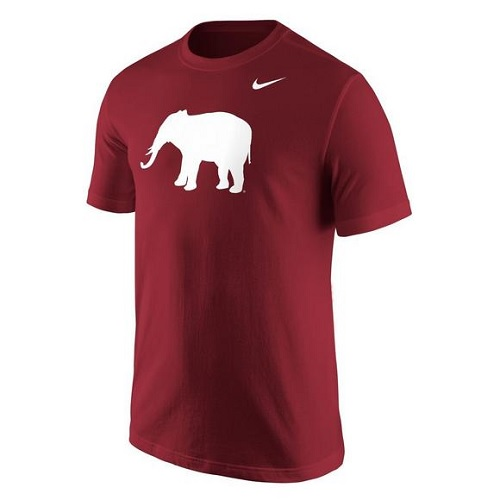 Alabama Crimson Tide T-Shirt - Nike - Elephant - Crimson