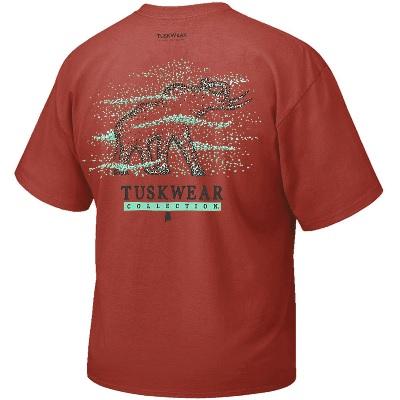 Alabama Crimson Tide T-Shirt - Tuskwear - Tuskwear Collection - Pocket - Crimson
