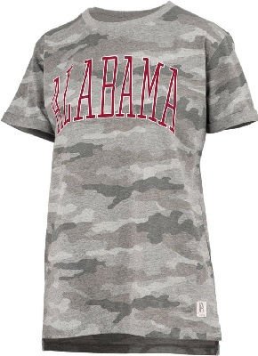 Alabama Crimson Tide T-Shirt - Pressbox - Ladies - Camo