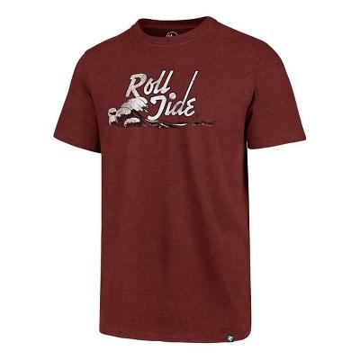 Alabama Crimson Tide T-Shirt - 47 Brand - Roll Tide - Crimson