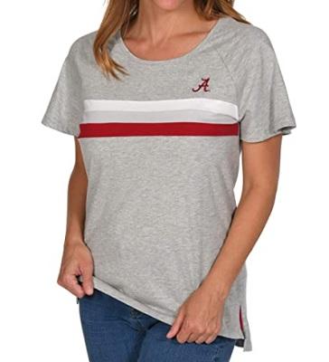 Alabama Crimson Tide T-Shirt - UG Apparel - Ladies - Grey