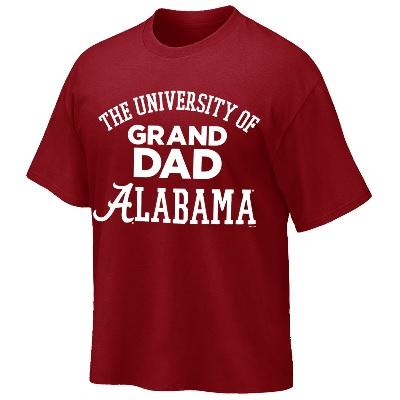 Alabama Crimson Tide T-Shirt - Weezabi - The University of Grand Dad - Crimson