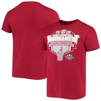 Alabama Crimson Tide T-Shirt - The Victory - SEC 2020 Men's Basketball Tournament - Basketball - Crimson
