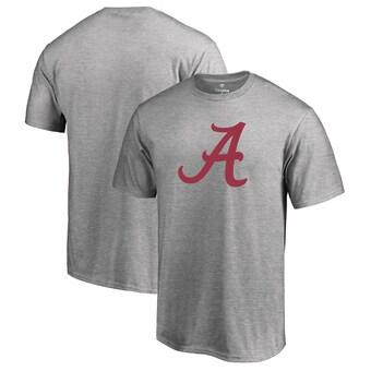 Alabama Crimson Tide T-Shirt - Fanatics Brand - Grey