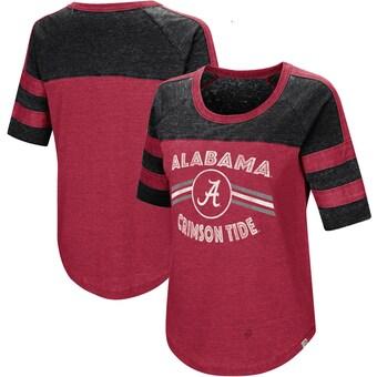 Alabama Crimson Tide T-Shirt - Colosseum - Ladies - Crimson