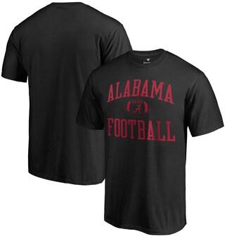 Alabama Crimson Tide T-Shirt - Fanatics Brand - Football - Football - Black