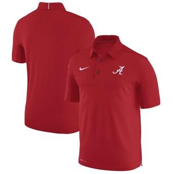Alabama Crimson Tide Nike Elite Coaches Sideline Dri FIT Polo Crimson