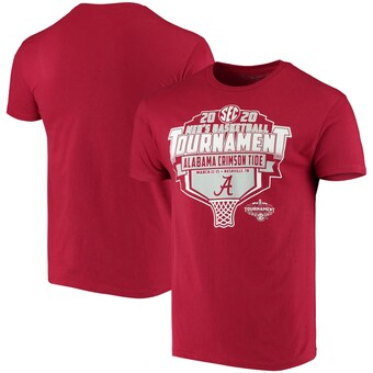 Alabama Crimson Tide T-Shirt - Original Retro Brand - SEC 2020 Men's Basketball Tournament - Basketball - Crimson