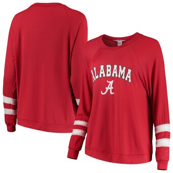 Alabama Crimson Tide T-Shirt - Flying Colors Apparel - Ladies Long Sleeve - Crimson