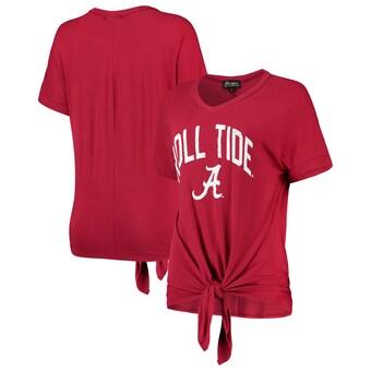 Alabama Crimson Tide T-Shirt - Gameday Couture - Ladies - Roll Tide - V-Neck - Crimson