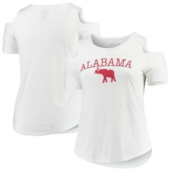 Alabama Crimson Tide T-Shirt - Boxercraft - Ladies White