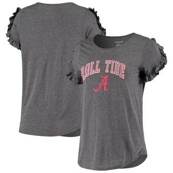 Alabama Crimson Tide T-Shirt - Boxercraft - Ladies - Roll Tide - Grey