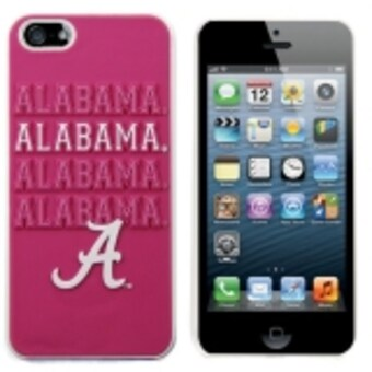 Alabama Crimson Tide iPhone 5 Hard Case Pink