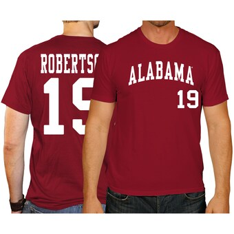 Alabama Crimson Tide T-Shirt - Original Retro Brand - David Robertson 19 - Baseball - Crimson
