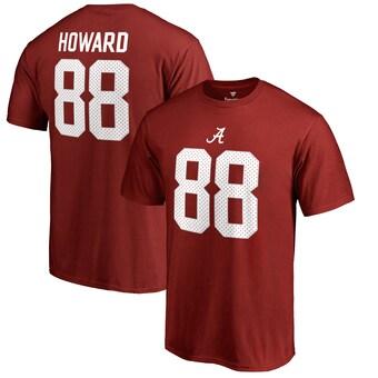 Alabama Crimson Tide T-Shirt - Fanatics Brand - OJ Howard 88 - Football - Crimson