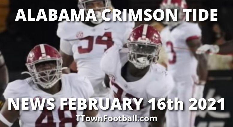 Alabama Crimson Tide News For February 16th 2021 - Men's Basketball Team Ranked 8th AP Poll